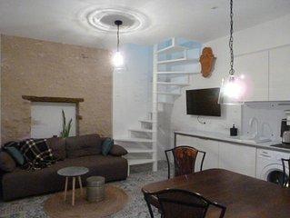 «LIEU-DIT» Duplex 37m2 CLIMATISÉ-PARKING-JARDINET