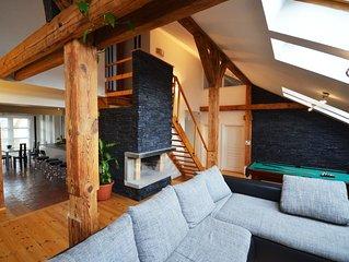 Attic Josefov - A cote de la Place de la Vieille Ville - Grand Luxury Apartment