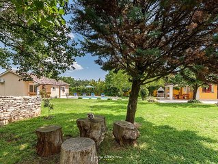 Charming villa with private pool near Rovinj