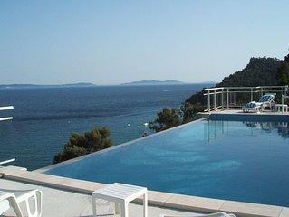 Location 100m2 avec piscine à débordement 50m2 classée 4 étoiles