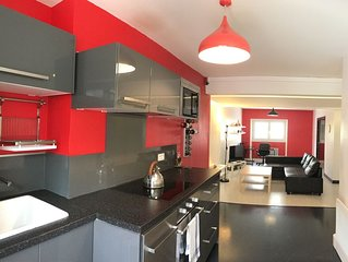 Hypercentre: appartement moderne et spacieux avec terrasse