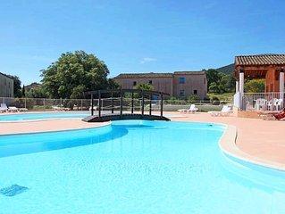 Maisonette de Charme 8 personnes + Terrasse privée, accès 2 piscines