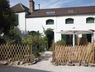 'L'Olivier' F2 avec terrasse au centre de Beaune