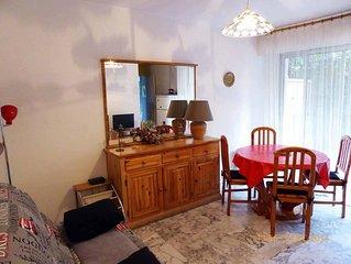 Appartement en rez-de Jardin proche mer et commerces.