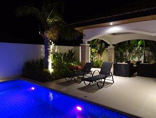 Hua Hin villa neuve avec piscine 2 chambres 2 sdb