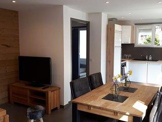Appartement neuf 4* Cosy dans maison entre Lac d'Annecy  & Stations des Aravis
