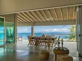 Awesome luxurious villa with big private pool and magnificent sea view.