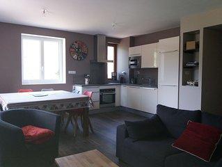 Appartement grand confort, 6 pers à Lélex station hiver été