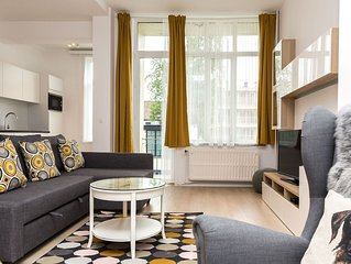 Modern and bright 90 sqmt in the EU District