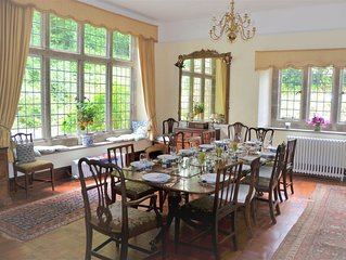 Elegant and tranquil house built in 1836 in stunning position, next to Dartmoor.