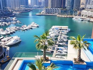 Ideally located in the Dubai Marina, near to JBR Beach, Shops & Restaurants