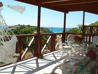 Nestled in the hills overlooking the Caribbean seas. REDUCED  RATES