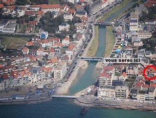 Gite les montgolfieres (30m plage)