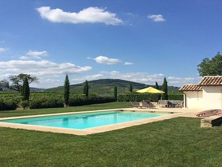 Gîte de charme 4épis piscine Beaujolais animal accepté