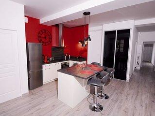 Appartement 2 chambres centre ville avec parking