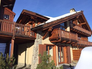 Appartement 3 pieces en duplex, esprit Chalet 4/6 pers