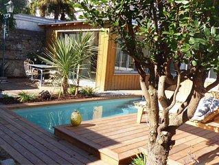 Le Nid du Héron : Gîte urbain avec piscine chauffée au coeur de Nantes