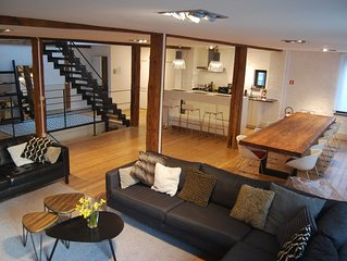 Beautiful charming loft ☆☆☆☆ in the center of Ghent - free parking!