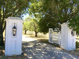 Cielito Ranch at Los Olivos-horses welcome!