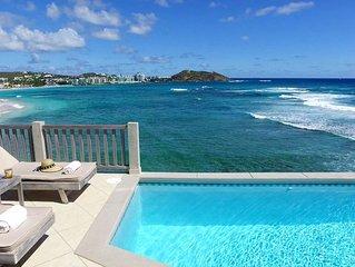 Beach House Younes - oceanfront  2 bedr villa - by Island Properties Online