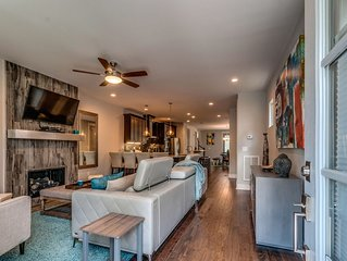 Elegant and Relaxing Downtown Nashville Home.  Near ALL the Fun!