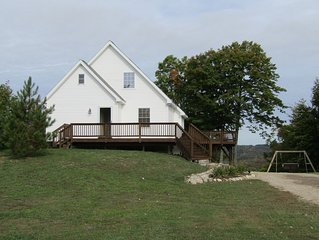 Northern Michigan Home, Majestic Views, Wooded Surroundings, Spacious Living