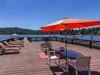 Ideally located Lakefront on Falls Beach with Biggest Private dock on the Lake!