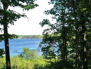 Private RV camping with lake view