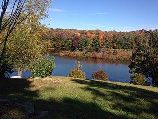 Sackett Lake waterfront Catskills cottage