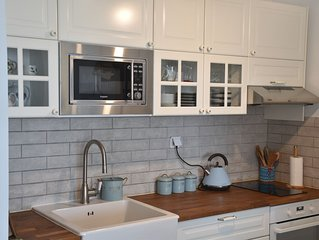 Newly renovated one-bedroom condo with large balcony