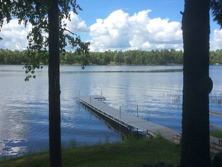 Recently remodeled family-friendly three bedroom home on Third Crow Wing Lake