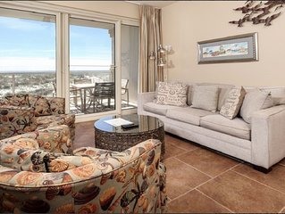 Beautiful Gulf Front Views, and Relax at the Spa!