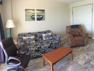 Refined Beachfront 1Br Suite w Fireplace! 12th Floor at Boardwalk Resort