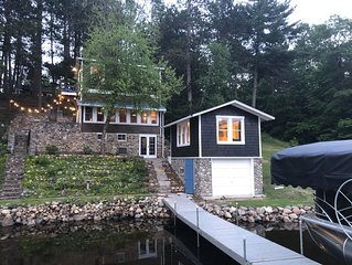 Quaint Cabin on Picturesque Sibley Lake * PONTOON INCL THRU OCTOBER!*  Sleeps 8