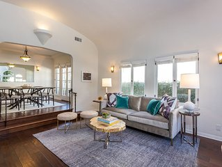 West Hollywood / Carthay Circle 2 Bed 2 Bath + Yard, Designer Furnished