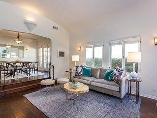 West Hollywood / Carthay Circle 2 Bed 2 Bath + Yard, Designer Furnished