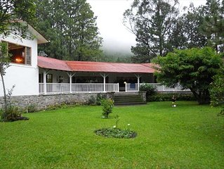 Traditional Home with Gardens by Caldera River Close to Town