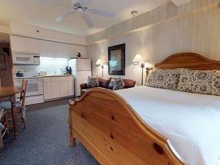 Bridge Street Lodge Studio  302 -  truly ski-in/ski-out premier location!