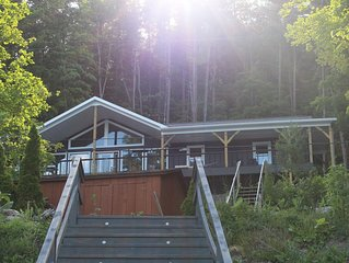 BRAND NEW LAKE FRONT VACATION HOME IN FINGER LAKES AREA