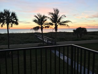Oceanfront  Updated 3  bedroom/2 bath Condo
