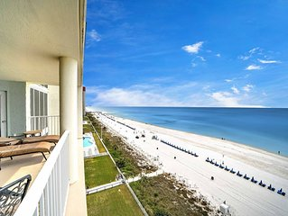 Long Beach Resort, Tower 3, 9th Floor Unit 3 Bedroom, 3 Bath with  Gulf Views