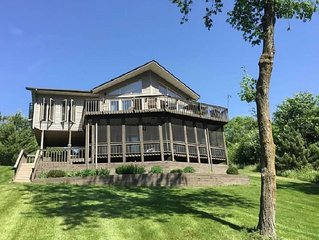 Beautiful Lake Home One Hour from the Twin Cities with Year Around Fun