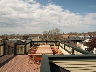 5 Bedroom Harbor View Downtown Newport