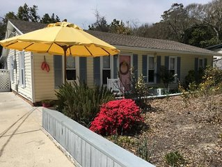 Renovated Cottage with Private Oceanfront Parking,  NO extra fees