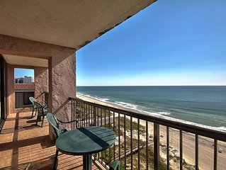 Beautiful Oceanfront 2 Bedroom Condo + Official On-Site Rental Privileges