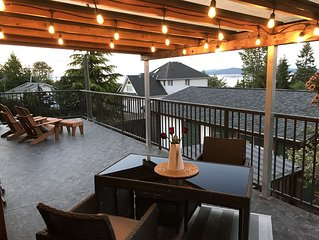 Seaside home- Cowichan Valley, Home away from home with fantastic ocean views