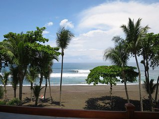 Oceanfront Rental in Heart of Hermosa - South of Jaco Beach