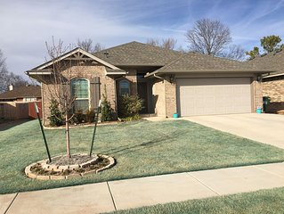 Beautiful New family home just minutes from OU Campus