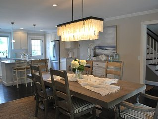 Casual Elegance on Easton's Point, walking distance to beaches, new construction