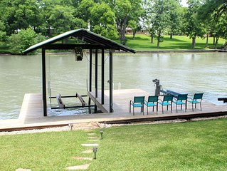 The Haven at Lake McQueeney- discounted rates!